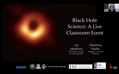 Black Hole Science – A Live Classroom Event